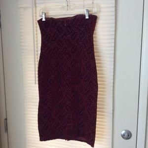 Kay Unger Dresses - Kay Unger NY Sz 2 Velvet Burgundy
